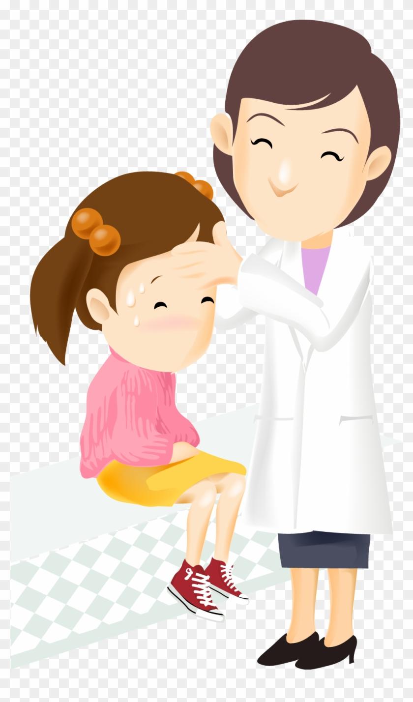 Картинки доктор и пациент мультяшные