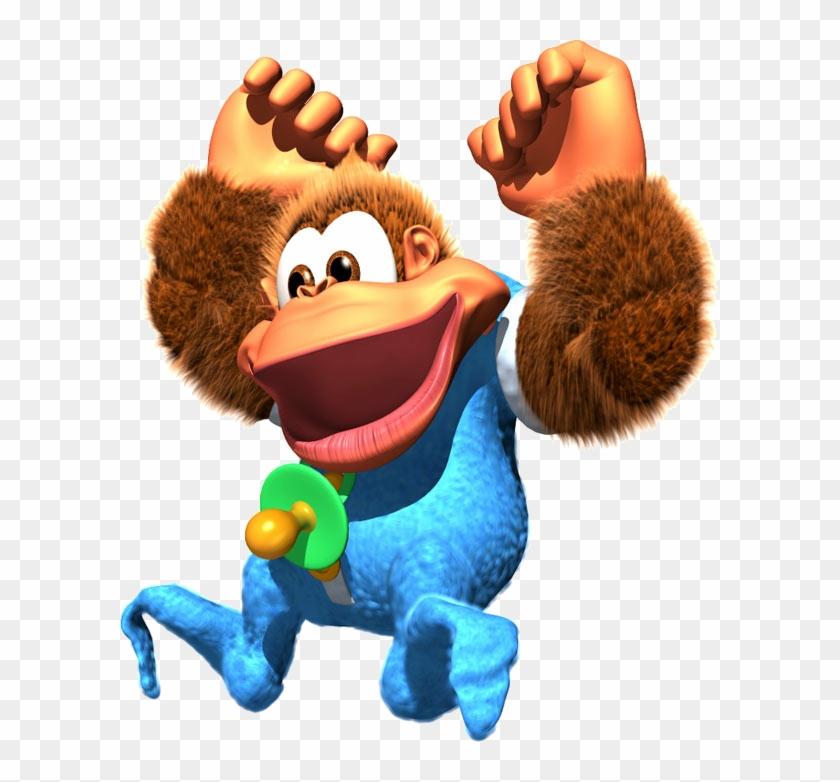 Kiddy Artwork - Donkey Kong Country 3 Kiddy Kong #618024