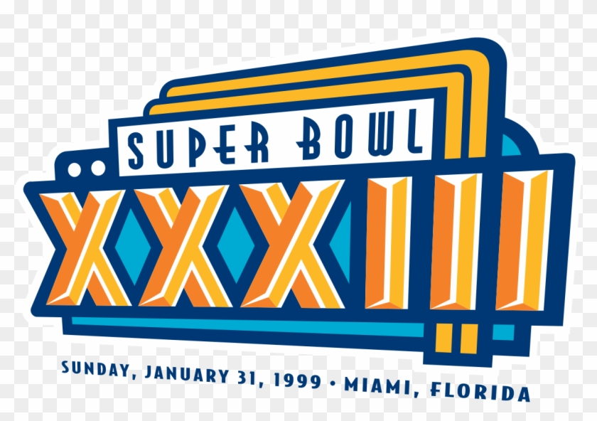 Clip Art Super Bowl Xviii Images Gallery - Super Bowl Xxxiii Logo #618627
