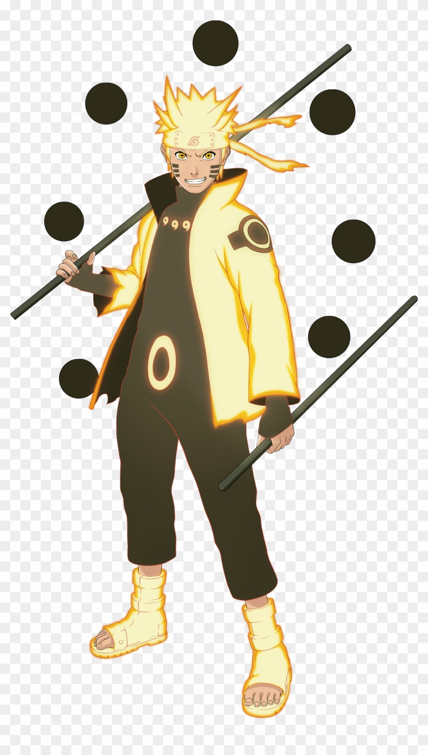 Download Naruto Shippuden Ultimate Ninja Wallpaper Naruto Sage Of Six Paths Mode Free Transparent Png Clipart Images Download