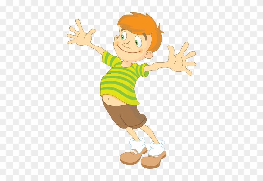 Boy Happy Cartoon Boy Png Free Transparent Png Clipart Images - Cartoon-boy-images-free