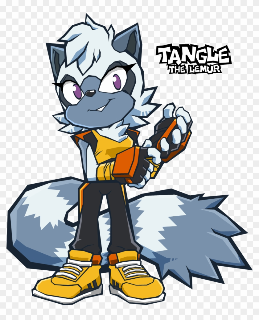 Tangle By Leatherruffian - Sonic Tangle The Lemur #619127