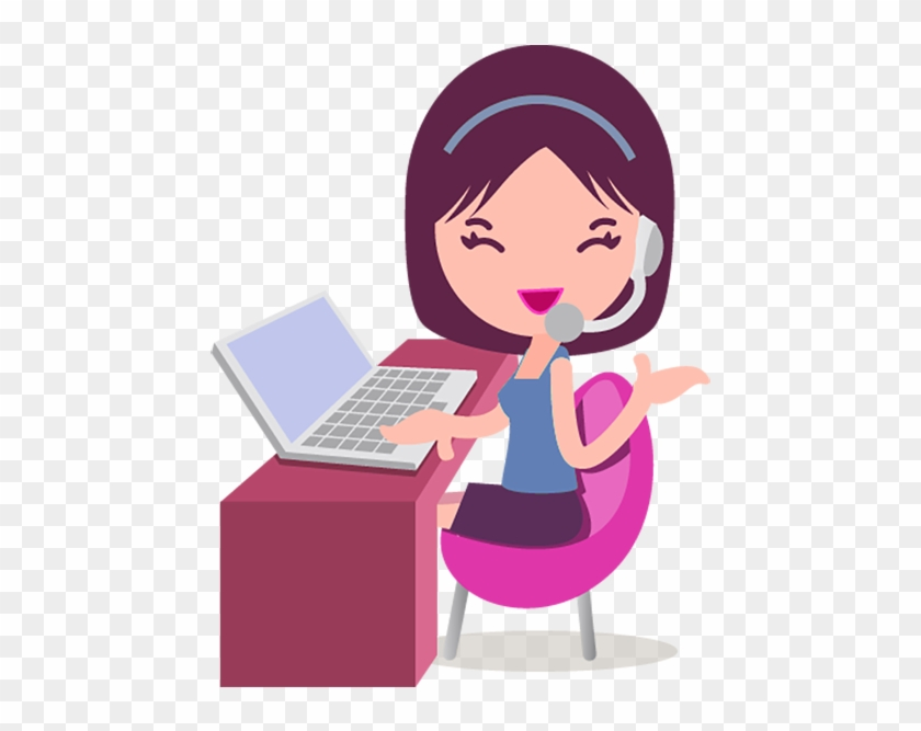 Call Centre Girl Customer Service Icon Birthday Wishes For A Coworker Free Transparent Png Clipart Images Download