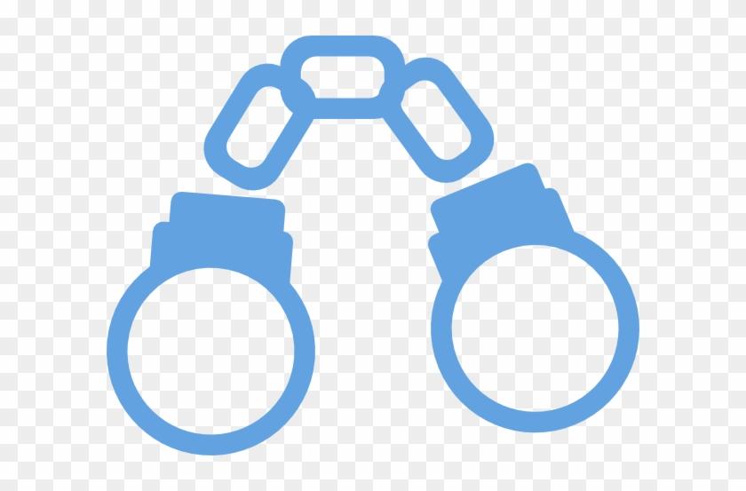 Cartoon Handcuffs #620109
