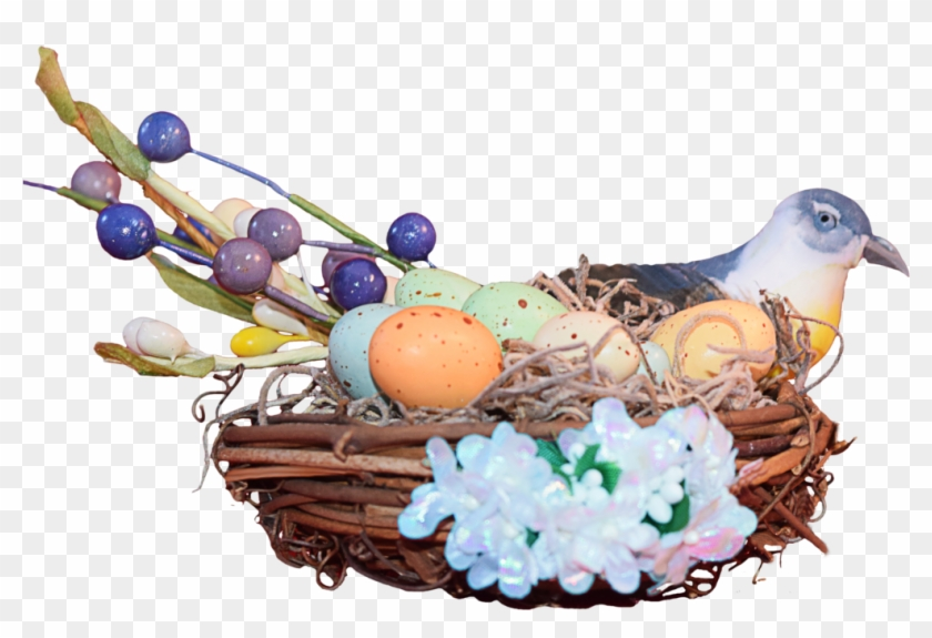 Awesome Nest Png Image With Easter Animals Png - Bird Nest #620566