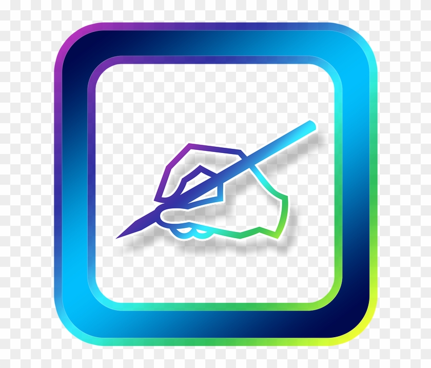Take Note - Hand Writing With Pen Clipart #620622