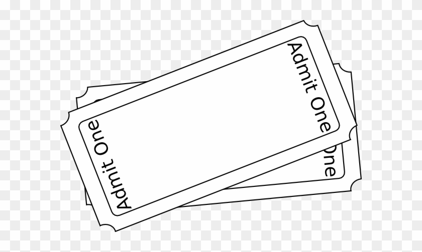 Movie Ticket Clip Art Free - Clip Art #620922