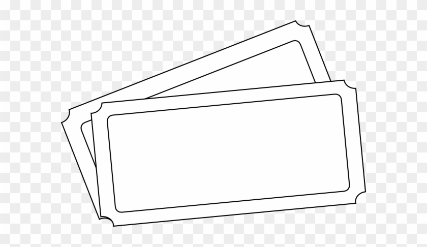 Ticket Template Clip Art - Draw A Concert Ticket #620934