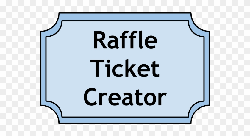 image about Raffle Tickets Printable titled Raffle Tickets Printable No cost - Raffle Tickets Printable