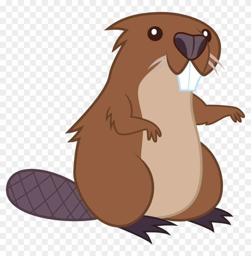 Mehoep, Beaver, Keep Calm And Flutter On, Mr - Beaver Cartoon #621501