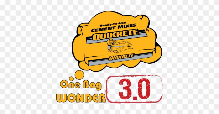 Concrete Drink Caddy Wins Quikrete® One Bag Wonder - Quikrete 110180 80 Lbs. Concrete Mix 651663 #621628