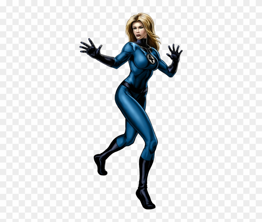 Free Glock Cliparts, Download Free Clip Art, Free Clip - Invisible Woman Marvel Avengers Alliance #622608
