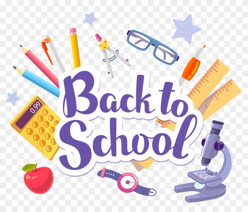 Student Paper School Stationery - Welcome Back To School Banner #622909