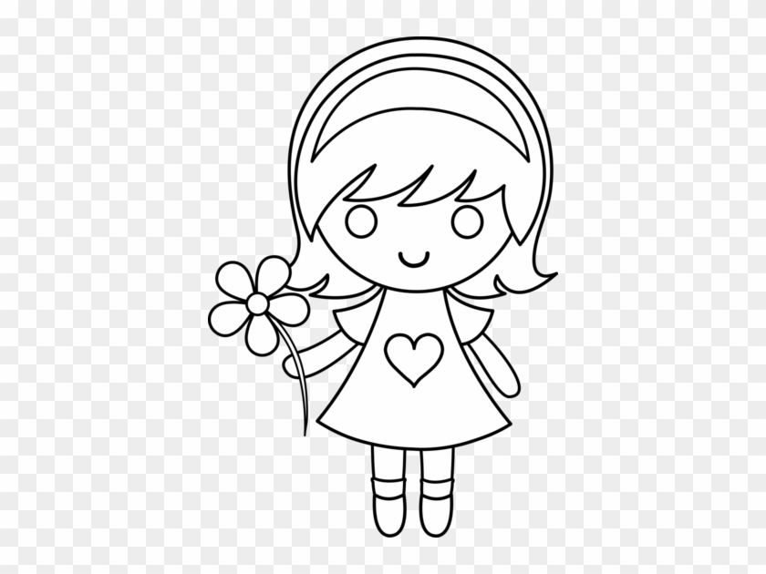 Shining Design Little Girl Coloring Pages 10 Characters - Boy And Girl Holding Hands #623379