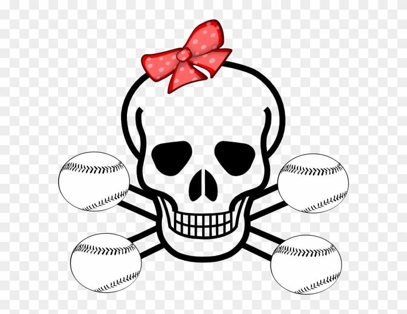 Softball Coloring Pages For Girls Girl Softball Skull