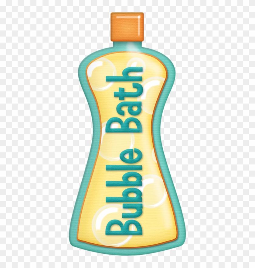 Teal Bubble Bath - Bottle Of Bubble Bath #623624