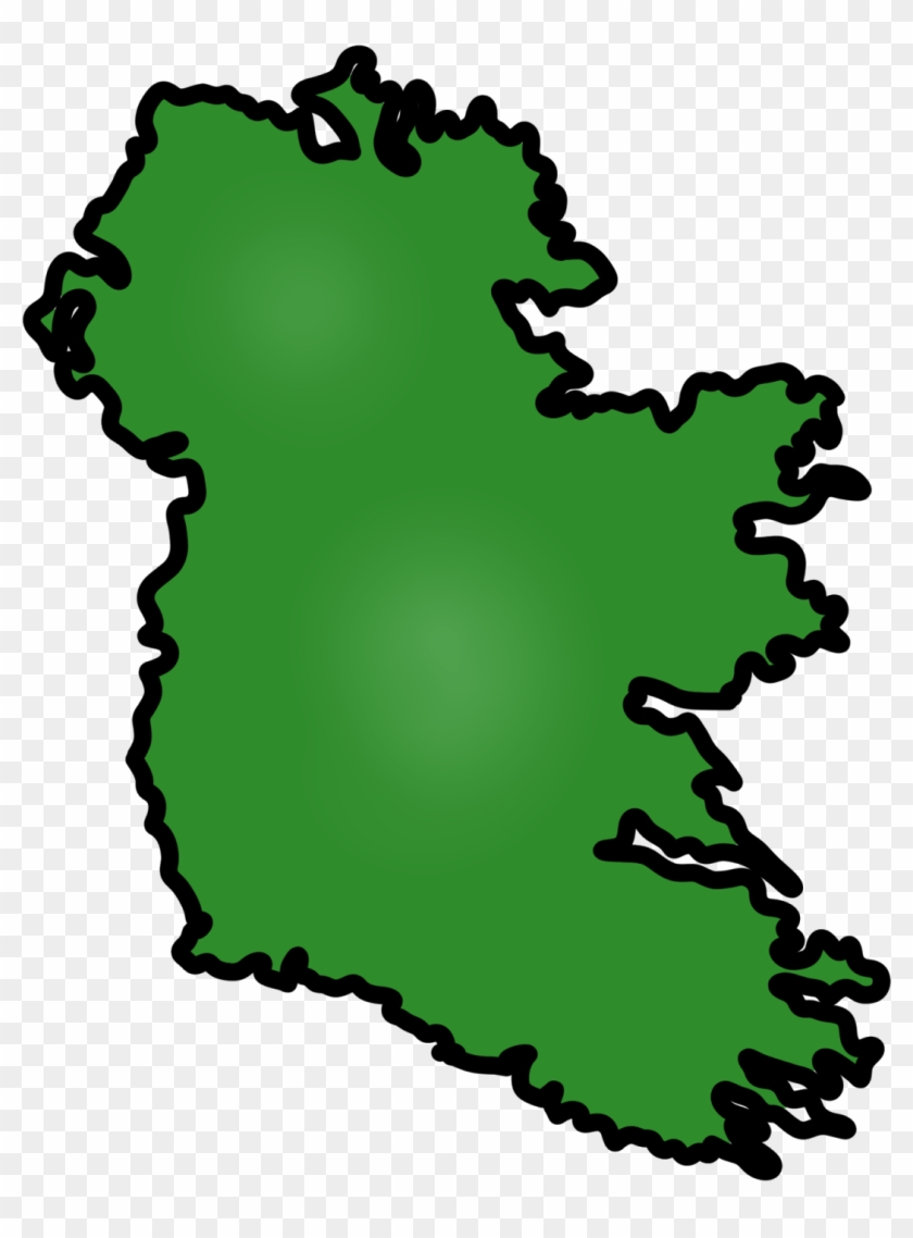 Simple Map Of Ireland.Simple Irish Map Free Cliparts That You Can Download Illustration