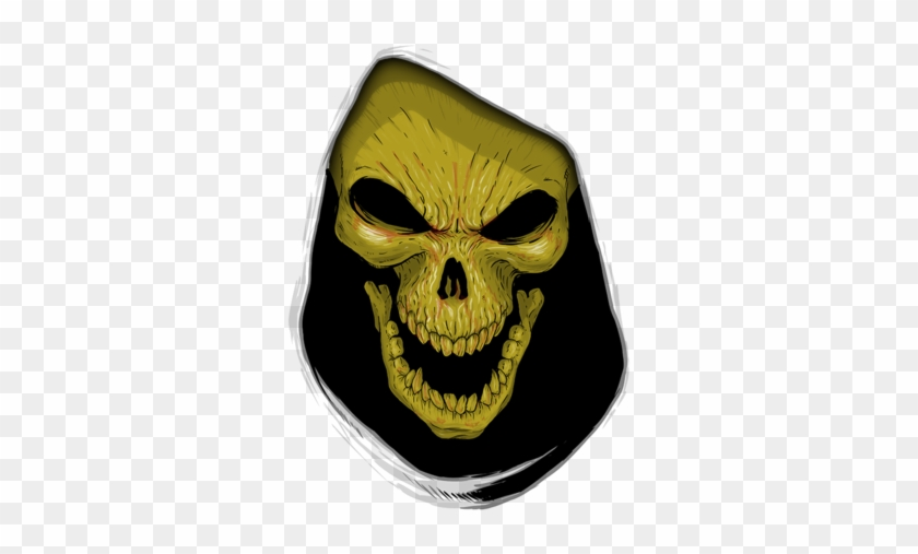 Face Of Evil - Face Of Evil Skeletor's Evil Visage Is H Basic Tees #624564