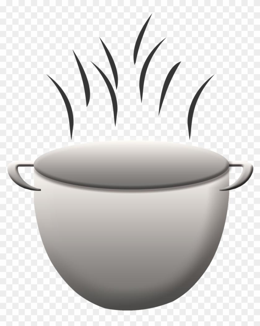 Cooking Pot Kettle Food Kitchen Transparent Image - Cooking Pot Transparent Background #624691