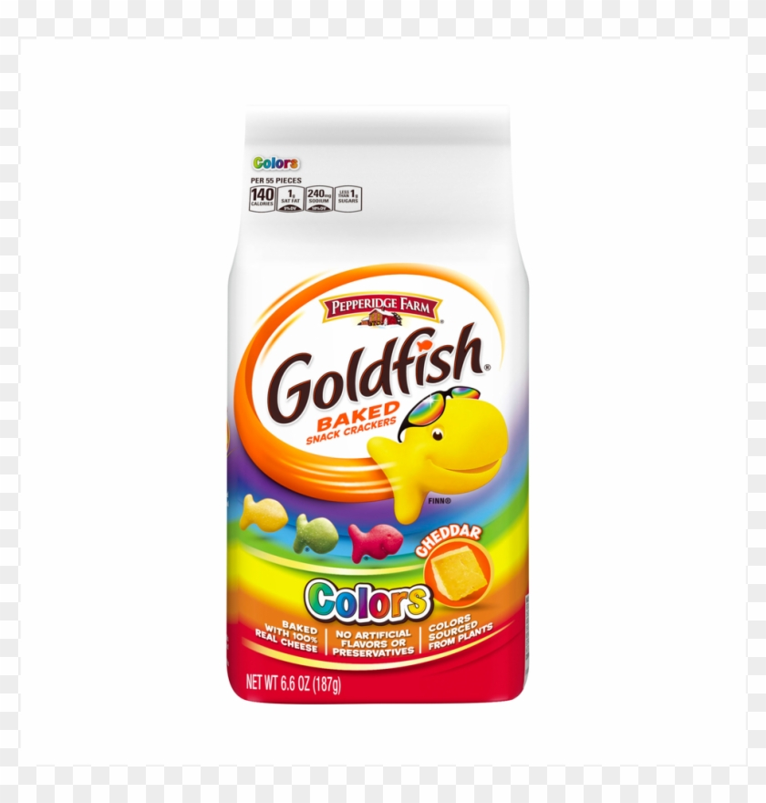 Pepperidge Farm Cheddar Colors Goldfish - Rainbow Goldfish #625718
