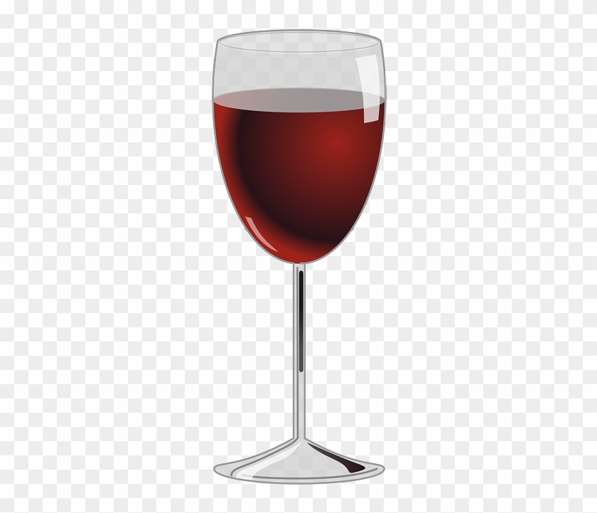 Linux, Icon, Glass, Wine, Cup, Cartoon, Drink - Glass Of Red Wine #625923