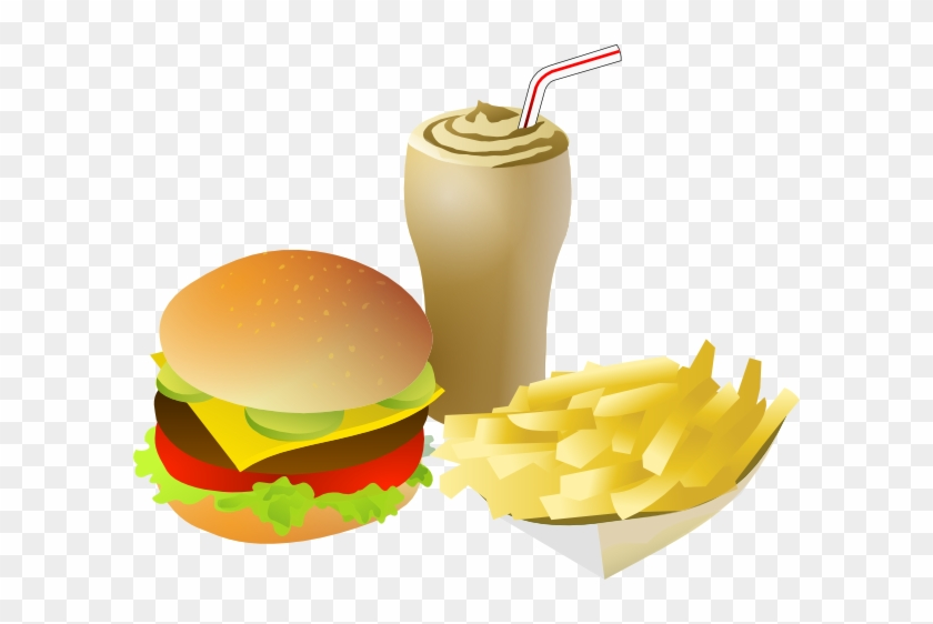 Srd Fastfood Menue Clip Art At Clker - Fast Food Clipart Png #626143
