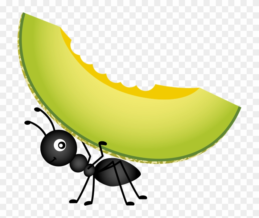 Food Picnic Stock Photography Clip Art - Cartoon Ant Carrying Food #626149