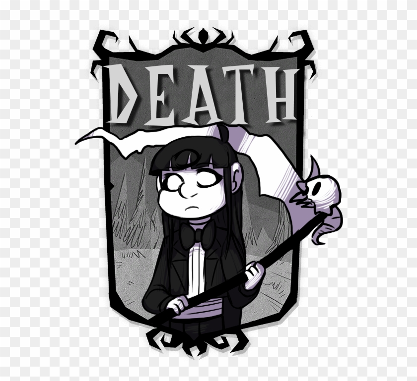 """Here's The Drawing For The Death Mod For Dst """" - Don T Starve Willow Skins #626350"""