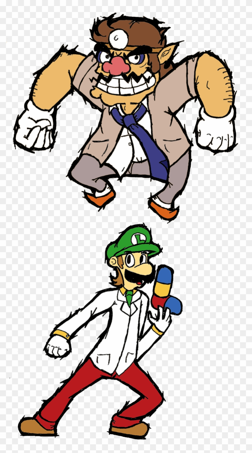 Doctor Wario And Doctor Luigi By That One Guy Again - Dr. Luigi #626533