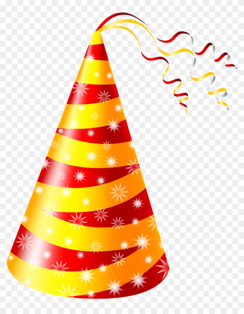 Birthday Cake Party Hat Clip Art