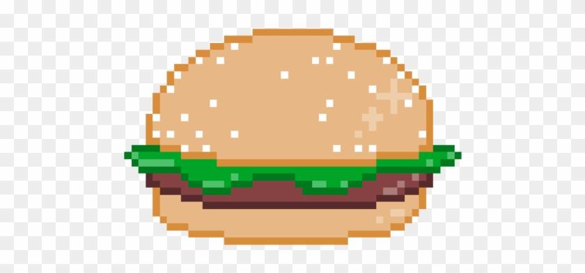 Pixel Burger By Aylanism Pixel Burger Free Transparent