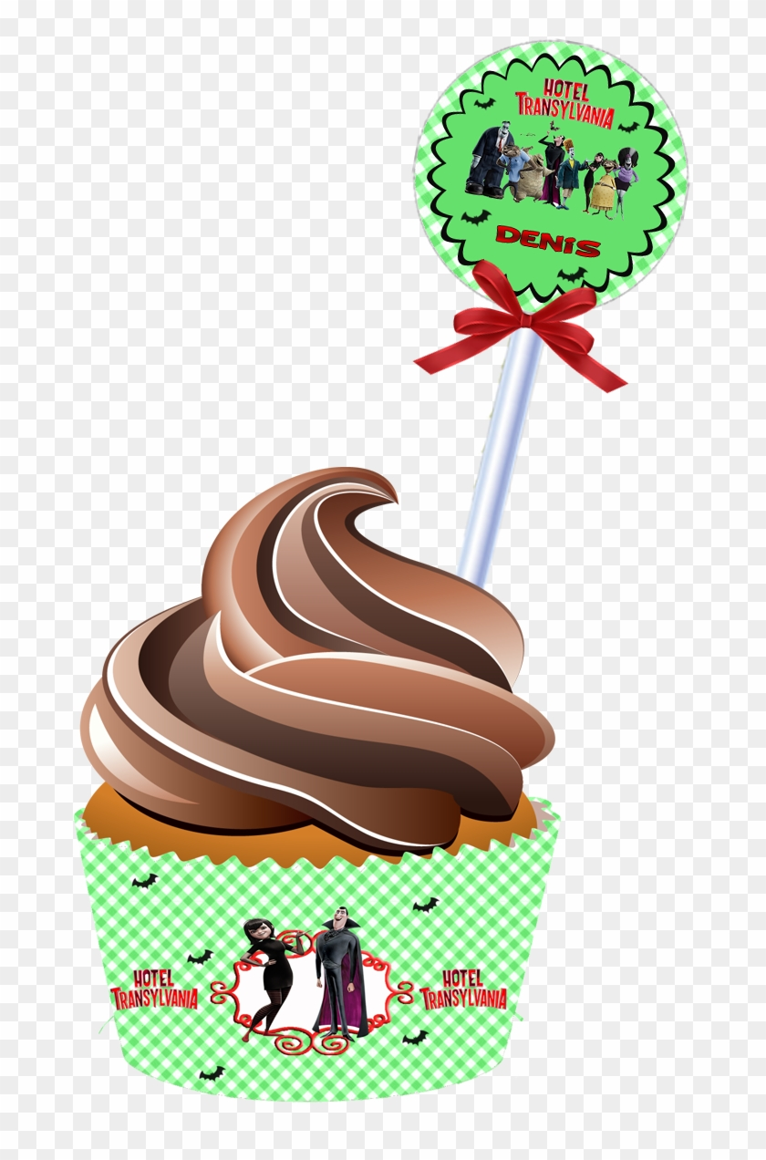 Transylvania Hotel Toppers Or Free Printable Candy 12 X Colourful Happy Birthday Daddy Edible Wafer Card Free Transparent Png Clipart Images Download