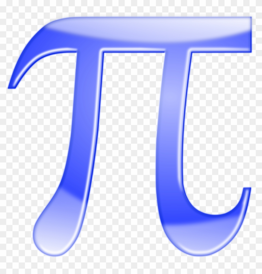 Free Vector Pi Shiny Blue Pi Symbol Clip Art Free Transparent