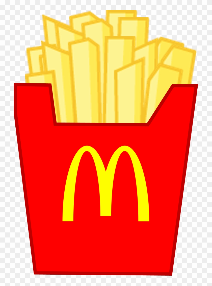 Frech Fries Body Front - Bfdi French Fries #627920