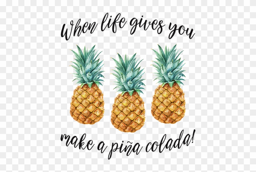 Bleed Area May Not Be Visible - Life Gives You Pineapples #627909