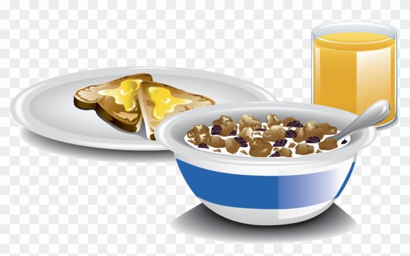 Breakfast Cereal Milk Toast Raisin Bread - Toast And Cereal For Breakfast #628602