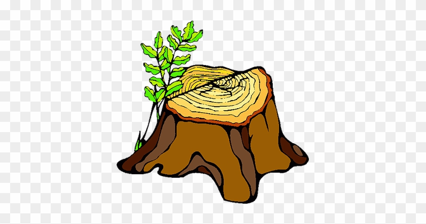 Tree Stump Clip Art #629374