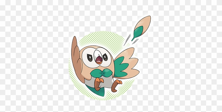 Rowlet Litten And Popplio Starter For Pokémon Sun Rowlet Pokemon