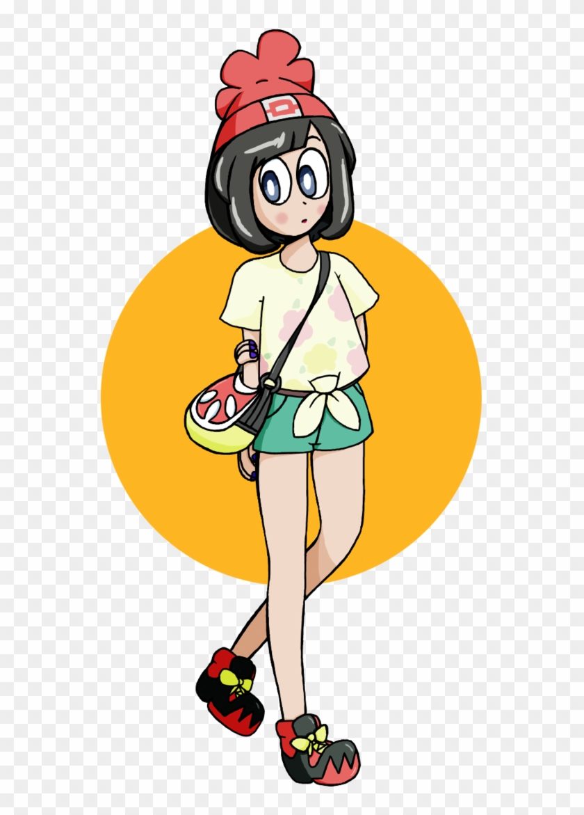 Female Trainer From Pokemon Sun And Moon By Cinus-findus - Pokémon Sun And Moon #629694
