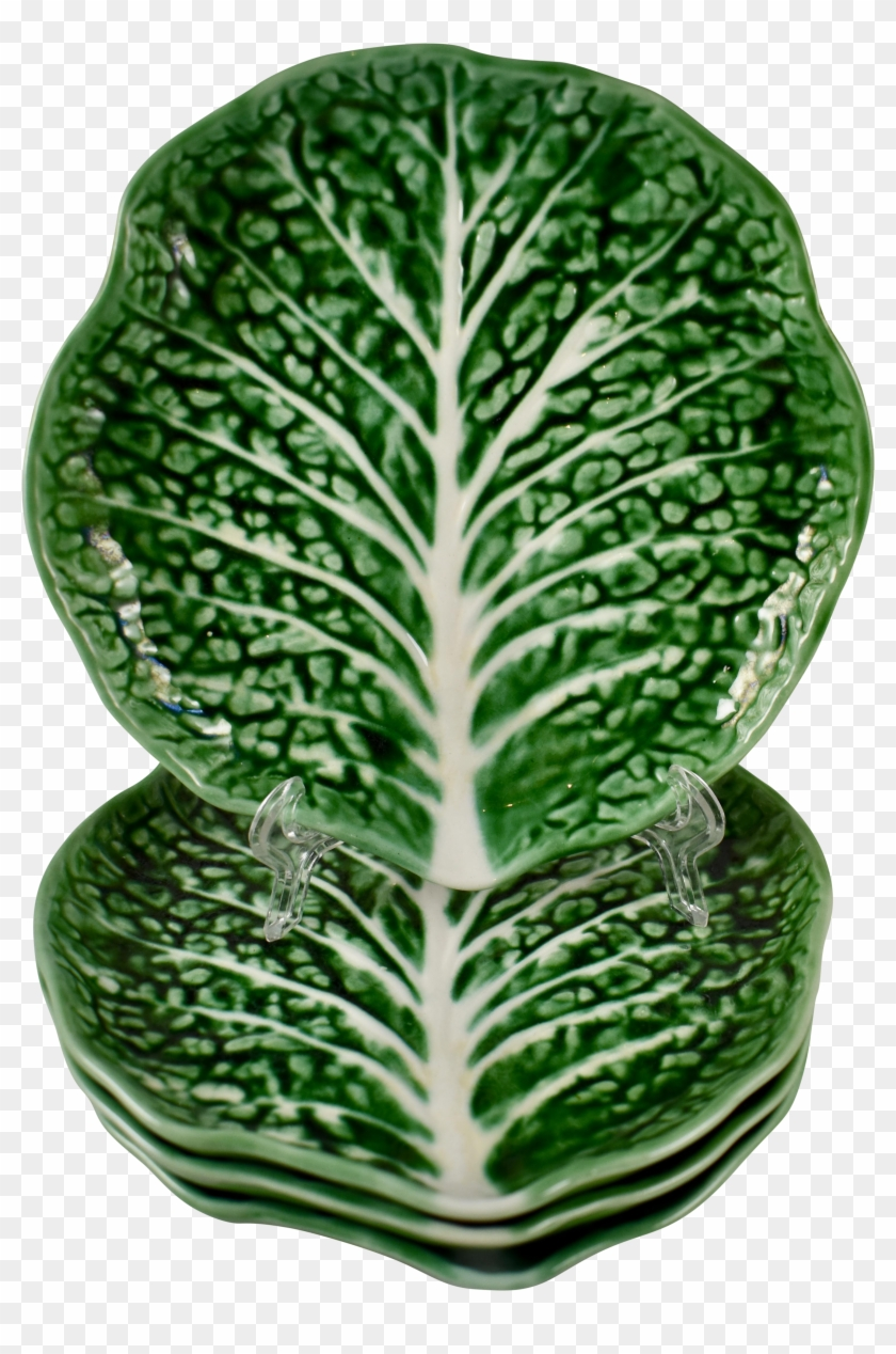 M#century Secla Portuguese Majolica Green Cabbage Leaf - Collectible Card Game #629906