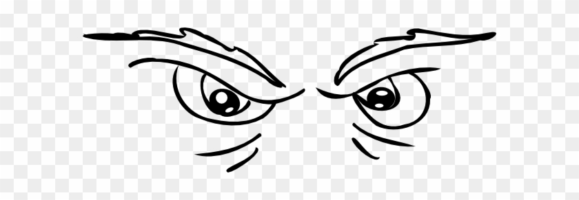 Scary Eyes Clip Art