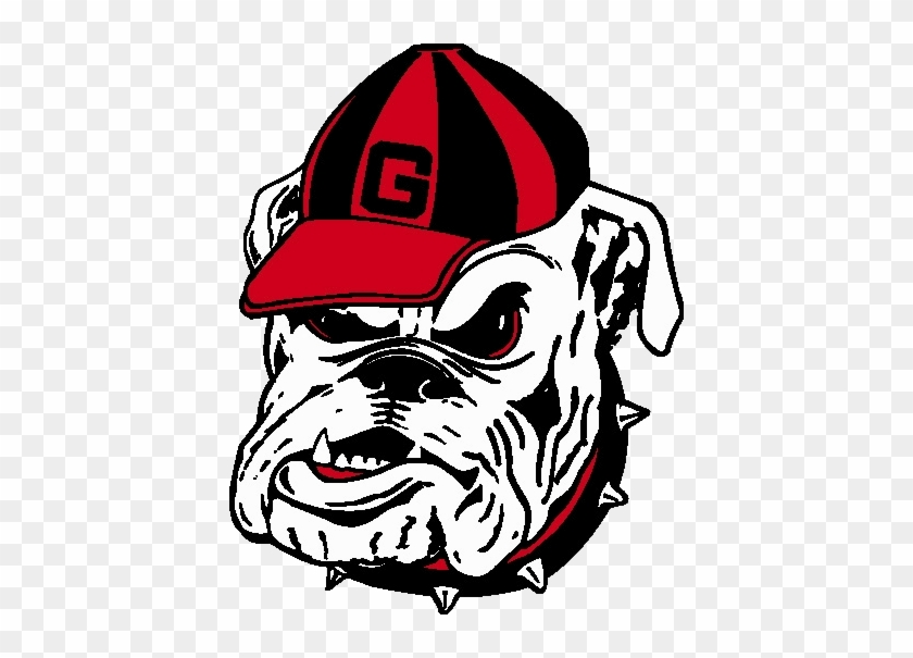 Georgia Bulldog Head Logo - Georgia Bulldogs Football Team #630253