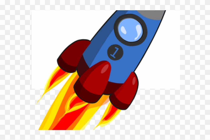 Missile Clipart Comic - Animated Rocket #630491