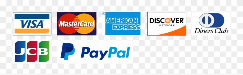 we accept all major credit and debit cards visa mastercard