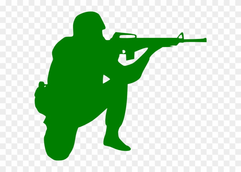 Army Soldier Silhouette #630923