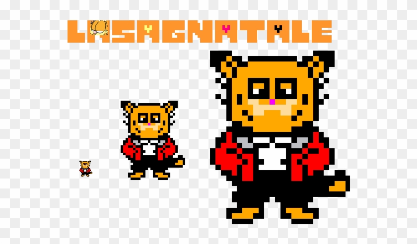 Lasagnatale Garfield Overworld Sprite By Hochenabil83 Undertale Sans Papyrus Hoodie Coat Teen Tops Cosplay Free Transparent Png Clipart Images Download