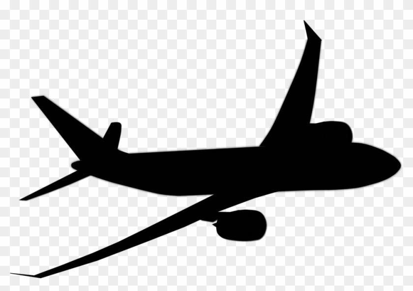 Plane Jet Airplane Aircraft Travel Transpo Airplane Clipart