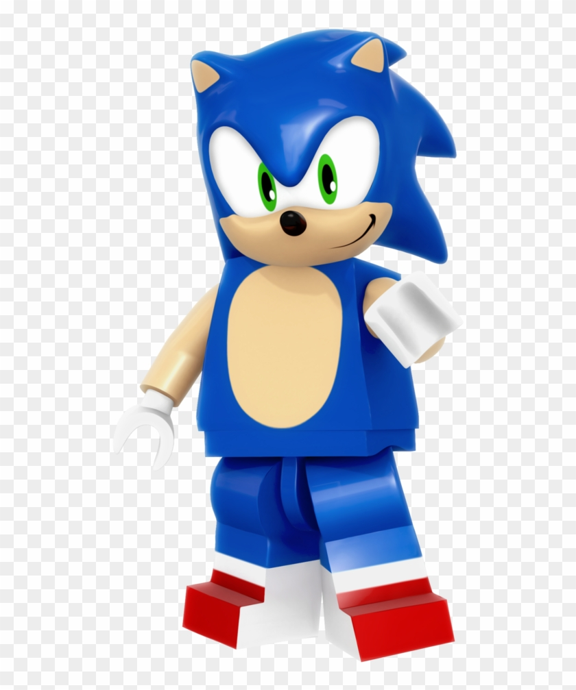 Lego Sonic Render By Nibroc-rock - Sonic Lego Coloring ...