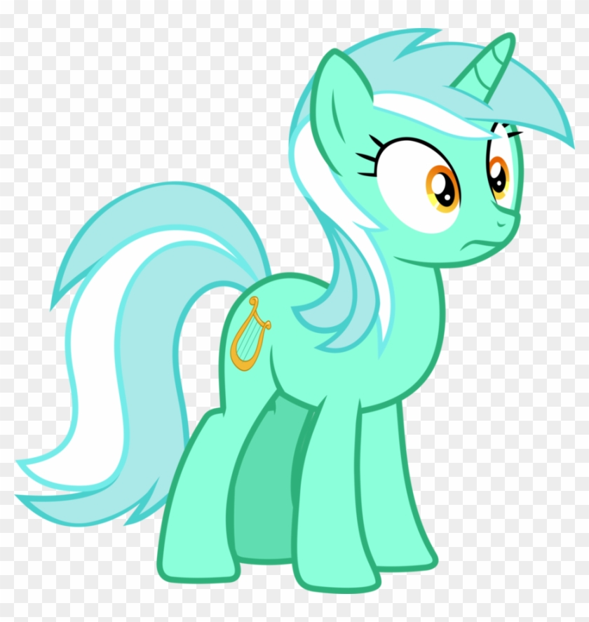 Confused Lyra By Frownfactory - My Little Pony Lyra Heartstrings #632066