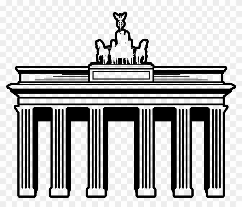 Brandenburg Gate - Brandenburg Gate Png #633353